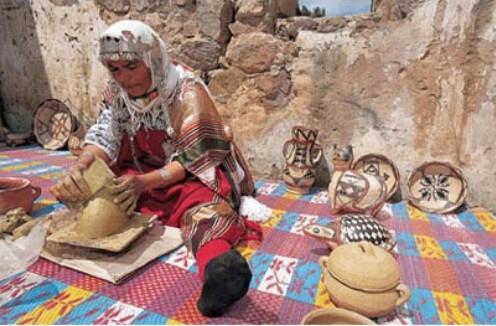 Ceramica bereber Tunez