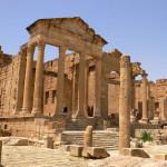 Los restos bizantinos de Sbeitla