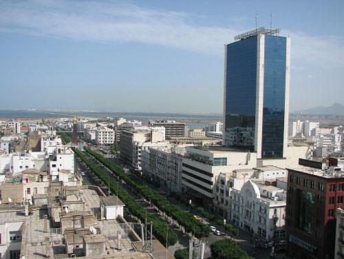 Avenida Habib Bourguiba, Ciudad de Tunez