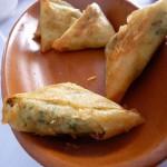 Pan brik, típico de la cocina tunecina