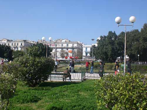 Place Barcelone en la Ciudad de Tunez