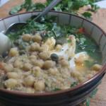 Receta de Lablabi, plato tunecino