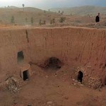 El Haddej, pueblo troglodita de Túnez