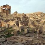 La ciudad romana de Duga, en Túnez