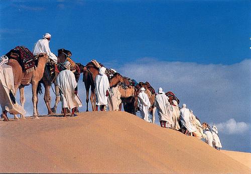 Caravana por el Sahara