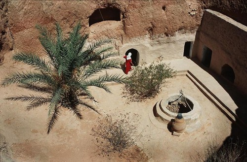 Matmata, cultura milenaria en casas bajo tierra