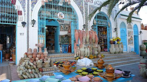 Nabeul, centro de la artesania y el azahar