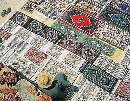 Zoco de alfombras