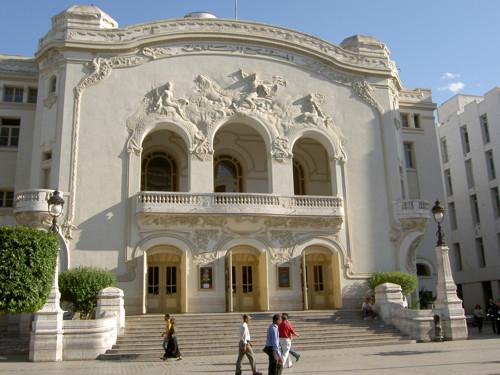 Teatro municipal de Tunis