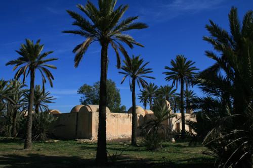 Mezquitas y granjas fortificadas en Djerba