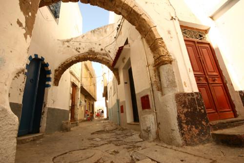 Bizerta antigua, ciudad amurallada