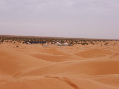 Zmela, punto de partida hacia el desierto