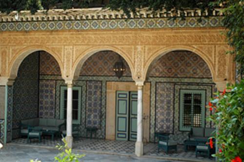 Dar al-Kamila, la residencia de Francia en Túnez