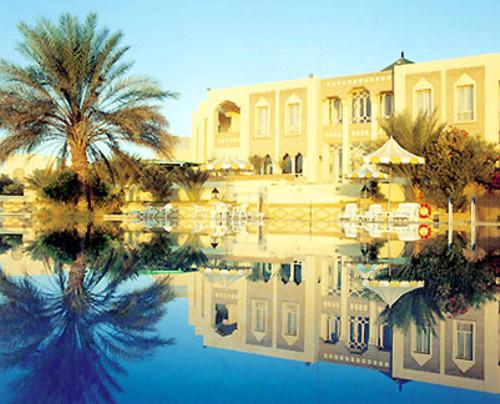 Hotel Abou Nawas, al borde del Gran Sur