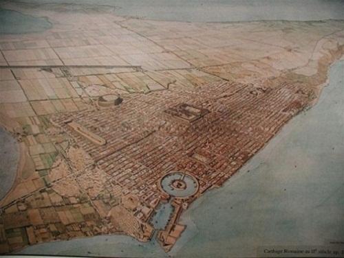 Puertos punicos de Cartago