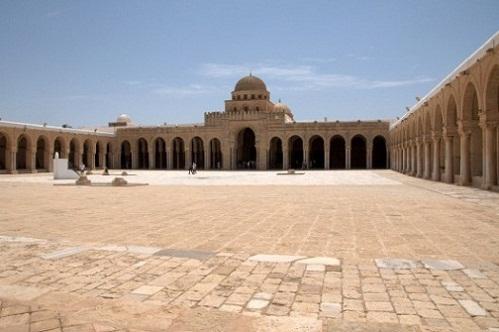 Gran Mezquita de Uqba, en Kairuán