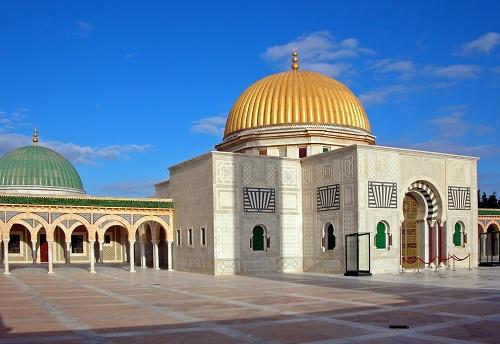 Mausoleo de Habib Bourguiba, en Monastir