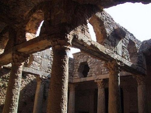 Las casas de Bulla Regia