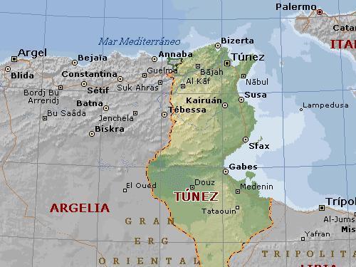 La geografía de Túnez