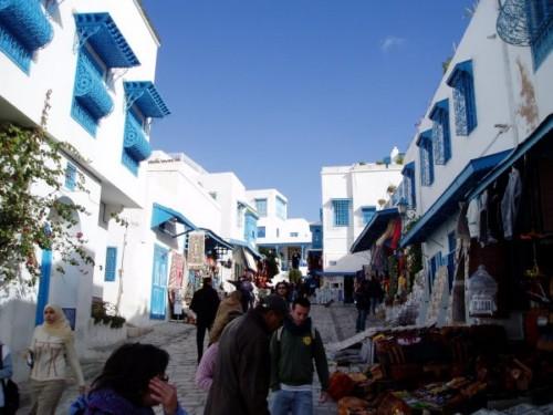 Turismo religioso en Sidi Bou Said