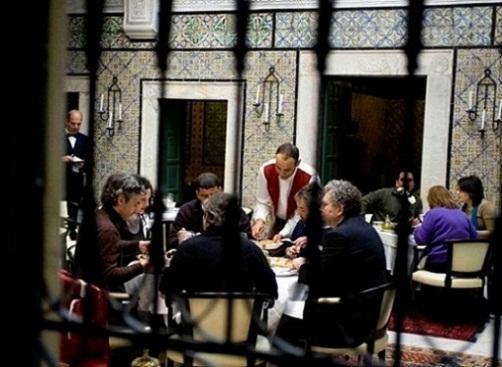 Restaurante en Tunez